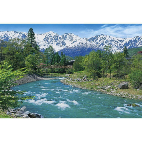 Epoch Jigsaw Puzzle 10-732 Japanese Scenery Nagano Japan (1000 Pieces)