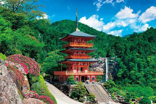 Epoch Jigsaw Puzzle 10-781 Japanese Scenery Temple Wakayama (1000 Pieces)