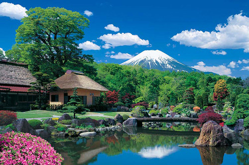 Epoch Jigsaw Puzzle 10-785 Japanese Scenery Mt Fuji Yamanashi (1000 Pieces)