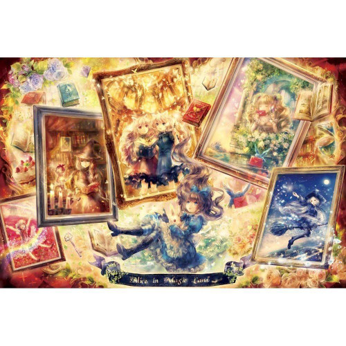 Epoch Jigsaw Puzzle 11-450 Fantasy Art Alice in Magic Land (1000 Pieces)
