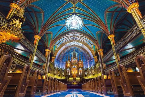 Epoch Jigsaw Puzzle 12-503 Notre-Dame Basilica Canada (1000 Pieces)