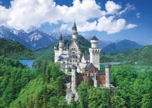 Epoch Jigsaw Puzzle 21-502 Neuschwanstein Castle (3000 S-Pieces)