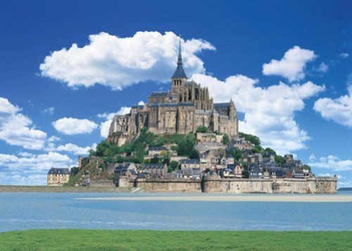 Epoch Jigsaw Puzzle 21-504 Mont Saint-Michel France (3000 S-Pieces)