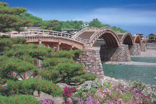 Epoch Jigsaw Puzzle 23-535 Japanese Scenery Kintai Bridge Japan (2016 S-Pieces)