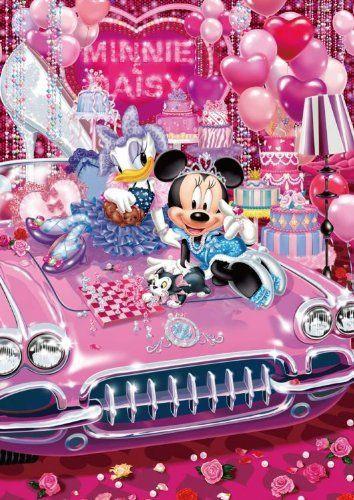 Tenyo Japan Jigsaw Puzzle D-108-735 Disney Minnie & Daisy (108 Pieces)