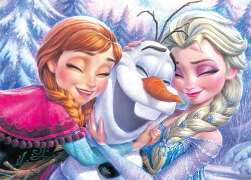 Tenyo Japan Jigsaw Puzzle D-500-467 Disney Frozen (500 Pieces)