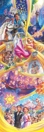 Tenyo Japan Jigsaw Puzzle D-950-598 Disney Rapunzel Story (950 Pieces)