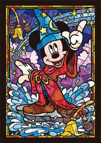 Tenyo Japan Jigsaw Puzzle DSG-266-747 Disney Mickey Mouse (266 Pieces)