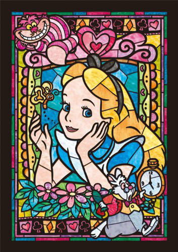 Tenyo Japan Jigsaw Puzzle DSG-266-750 Disney Alice in Wonderland (266 Pieces)