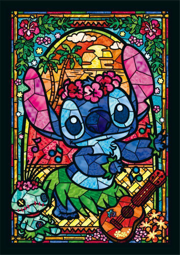Tenyo Japan Jigsaw Puzzle DSG-266-758 Disney Stitch (266 Pieces)
