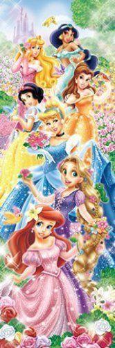 Tenyo Japan Jigsaw Puzzle DSG-456-707 Disney Flower Garden Princess (456 Pieces)