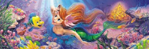 Tenyo Japan Jigsaw Puzzle DSG-456-713 Disney Little Mermaid Ariel (456 Pieces)