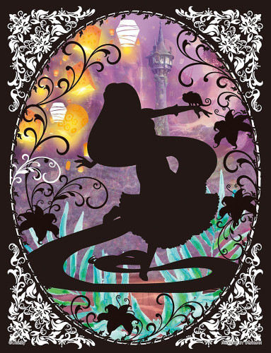 Yanoman Jigsaw Puzzle 42-37 Disney Tangled Rapunzel (300 Small Pieces)