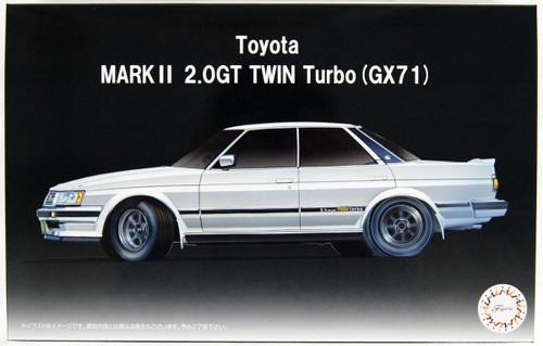Fujimi ID-275 Toyota Mark II (GX71) 2.0 GT TWIN turbo 1/24 Scale Kit