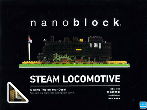 Kawada NBM-001 nanoblock Steam Locomotive