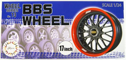 Fujimi 93540 W-13 1/24 Scale BBS Wheels 17-inch