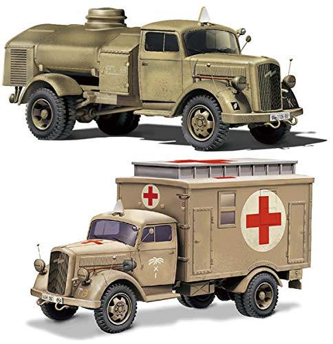 Fujimi Military Series No.4 German 3t Truck (Truck/Refueling Car) 1/72 Scale
