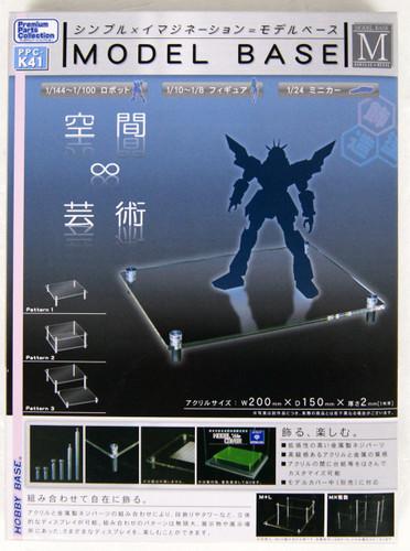 Hobby Base PPC-K41 Model Base M size Acrylic x Metal
