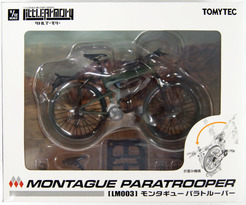 Tomytec LM003 Little Armory Montague Paratrooper 1/12 Scale Bike