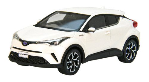 Ebbro 45599 Toyota C-HR White Pearl Crystal Shine 1/43 Scale