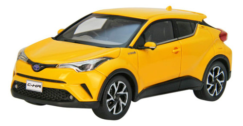 Ebbro 45601 Toyota C-HR Yellow 1/43 Scale