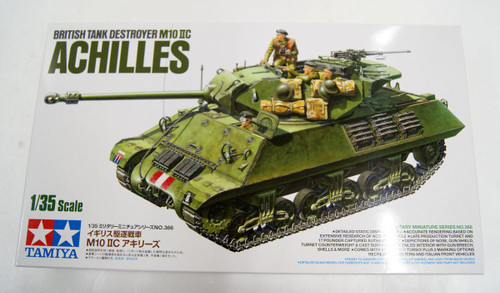 Tamiya 35366 British Tank M10 IIC Achilles 1/35 Scale Kit