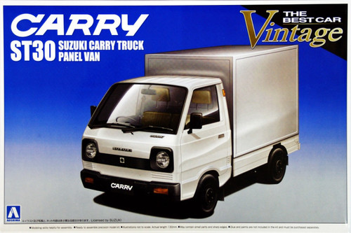 Aoshima 00267 Suzuki Carry Truck ST30 Panel Van 1/24 Scale Kit