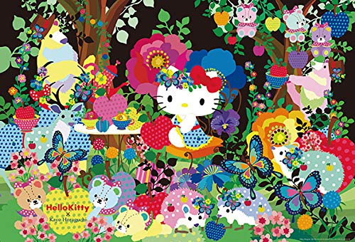 Beverly Jigsaw Puzzle 91-134 Hello Kitty Forest Tea Party (1000 Pieces)