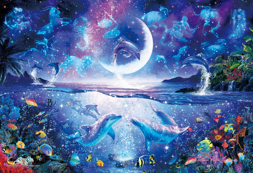 Epoch Jigsaw Puzzle 28-326 Lassen Amazing Night (300 Pieces)