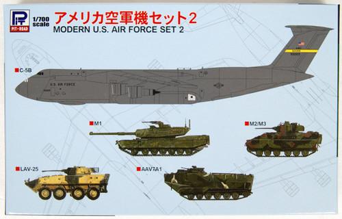 Pit-Road Skywave S47 Modern U.S. Air Force Set 2 1/700 Scale Kit