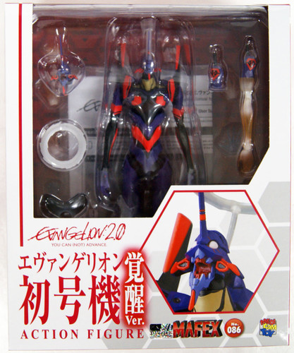 Medicom MAFEX 086 EVA Unit-01 (Awakening Ver.) Action Figure (Rebuild of Evangelion)