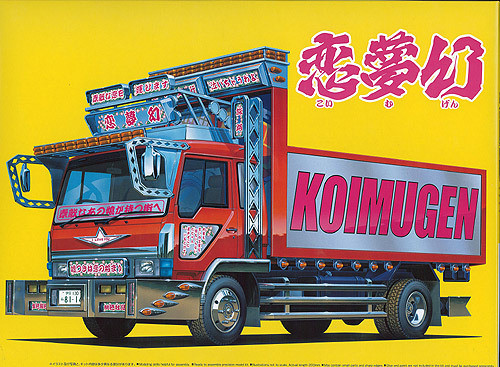 Aoshima 50415 KOIMUGEN Japanese Dump (Lorry) Truck 1/32 Scale Kit