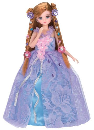 Takara Tomy Licca-chan Jewel Up Fantastic Flower Dress Set (125877)