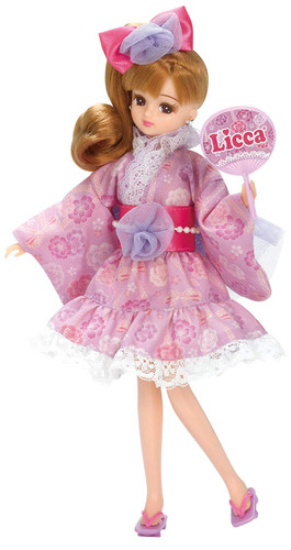 Takara Tomy LW-13 Licca-chan Festival Purple Dress