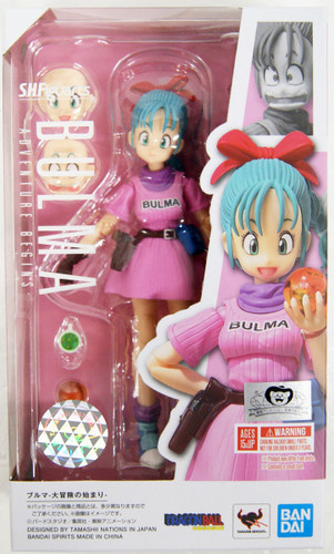 Bandai S.H. Figuarts Bulma -Beginning of a Great Adventure- Figure (Dragon Ball)