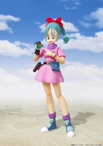 Bandai S.H. Figuarts Bulma -Beginning of a Great Adventure- Figure (Dragon Ball)