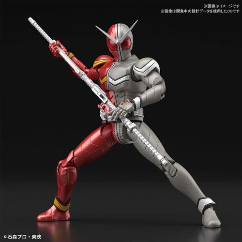 Bandai Figure-Rise Standard Kamen Rider Masked Rider W Heatmetal Plastic Kit