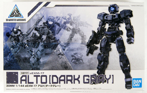 Bandai 30 Minutes Missions 09 (30MM) eEMX-17 ALTO (Dark Gray) 1/144 Scale Kit