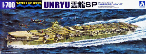 Aoshima Waterline 00939 IJN Japanese Aircraft Carrier UNRYU 1/700 Scale Kit