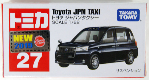 Tomy Tomica 27 Toyota Japan Taxi 102496