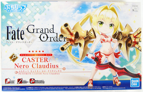 Bandai Petitrits 02 Fate Grand Order Caster Nero Claudius Non-scale Kit