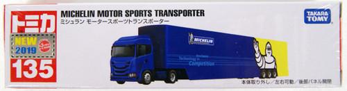 Takara Tomy Tomica Long 135 Michelin Motorsport Transporter