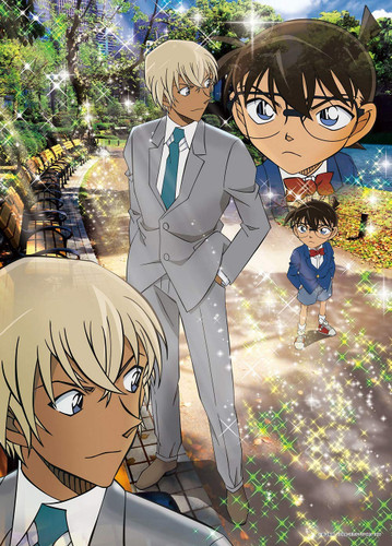 Epoch Jigsaw Puzzle 06-107s Detective Conan Daytime Conflict (500 Pieces)