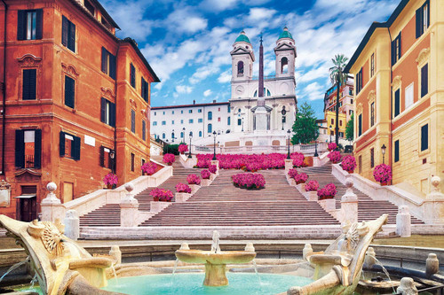 Epoch Jigsaw Puzzle 10-810 Italy Piazza di Spagna (1000 Pieces)
