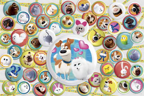 Yanoman Jigsaw Puzzle 10-1347 The Secret Life of Pets 2 (1000 Pieces)