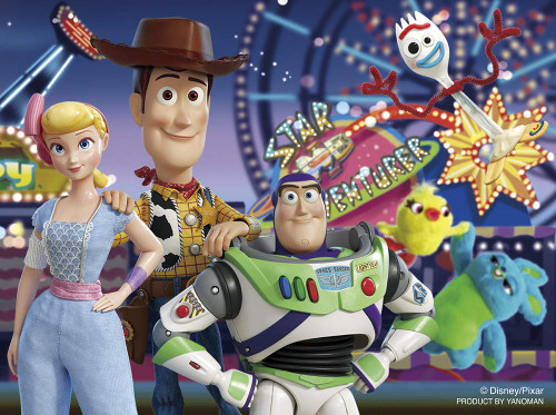 Yanoman Jigsaw Puzzle 2301-22 Disney Toy Story 4 Star Adventure (150 Pieces)