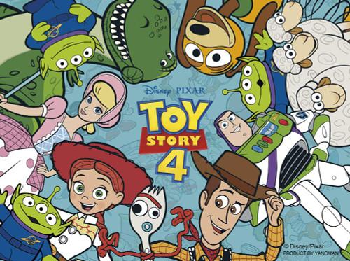 Yanoman Jigsaw Puzzle 2301-25 Disney Toy Story 4 Everybody's Smile (150 Pieces)