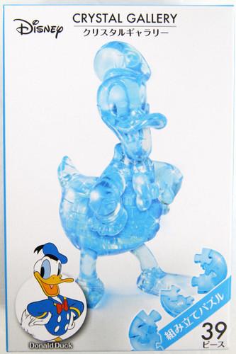 Hanayama Crystal Gallery 3D Puzzle Disney Donald Duck (Blue) 4977513076074