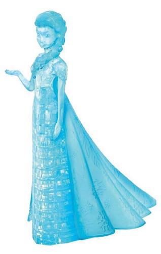 Hanayama Crystal Gallery 3D Puzzle Disney Frozen Elsa 4977513076111