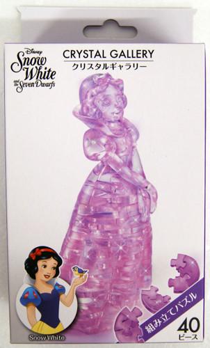 Hanayama Crystal Gallery 3D Puzzle Disney Snow White 4977513076135